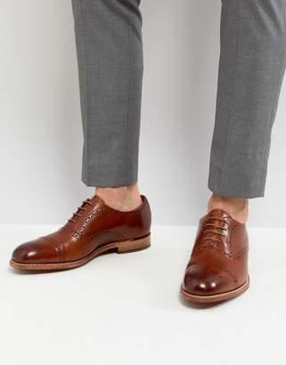 Grenson Matthew Brogue Toe Cap Shoes