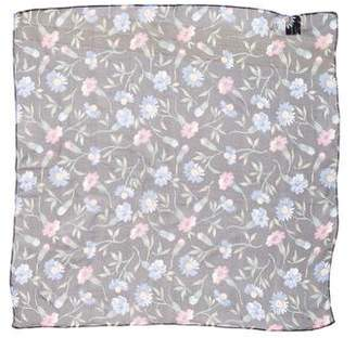 Saks Fifth Avenue Floral Print Silk Scarf