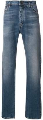 Kent & Curwen light-wash straight leg jeans