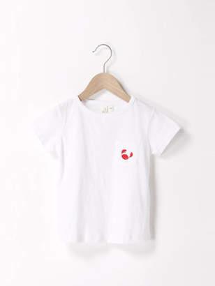 LAGOM (ラーゴム) - Samansa Mos2 Lagom マリン刺繍ポケットTシャツ