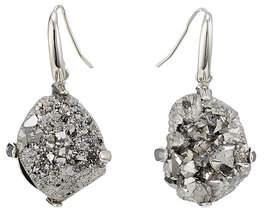 Christopher Kane DNA Stone Earrings