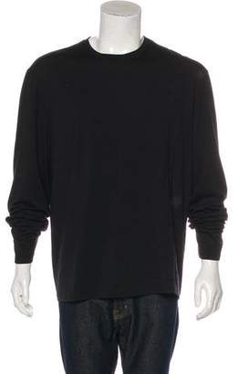 Gianni Versace Solid Woven T-shirt