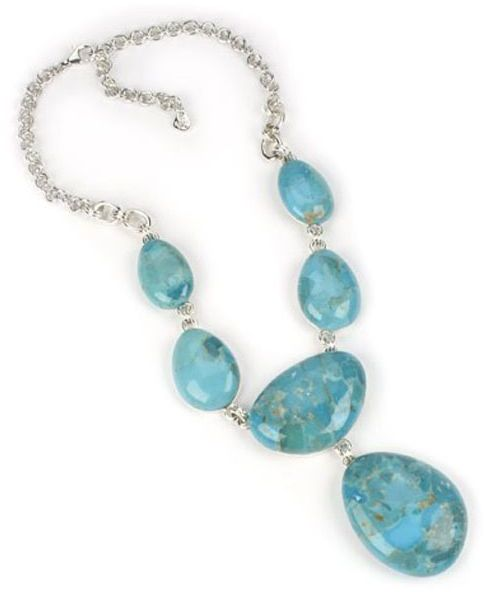 Barse turquoise necklace