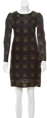 Marni Abstract Print Knee-Length Dress w/ Tags