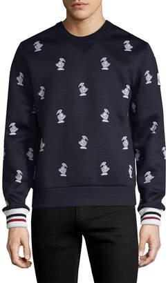 Moncler Logo Crewneck Sweater