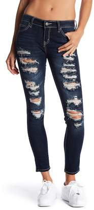 Soundgirl Ripped Skinny Jeans