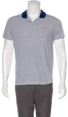 Oliver Spencer Striped Polo Shirt