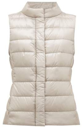 Herno Giulia Quilted Down Gilet - Womens - Silver
