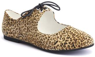 Lola Ramona Rinna Cheetah Mary Jane Flat