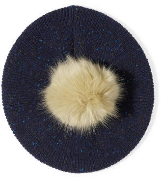 Jigsaw Donegal Beret Pom Hat