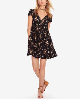 Denim & Supply Ralph Lauren Floral-Print Button-Front Dress $98 thestylecure.com