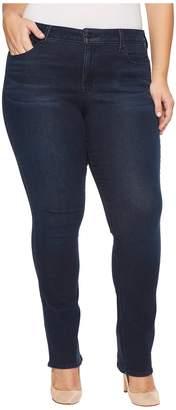 NYDJ Plus Size Plus Size Marilyn Straight Jeans in Smart Embrace Denim in Morgan Women's Jeans