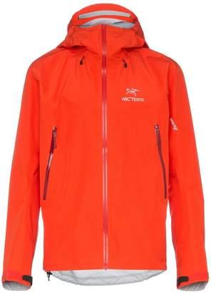 Arc'teryx Red BETA LT hooded jacket
