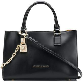 Versace structured tote bag