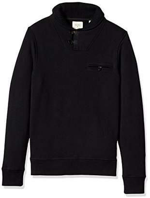 Billy Reid Men's Long Sleeve Pullover Shiloh Shawl Collar Sweater