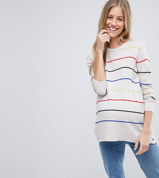 Asos (エイソス) - Asos Maternity Nursing ASOS DESIGN Maternity Nursing sweater in stripes with side poppers