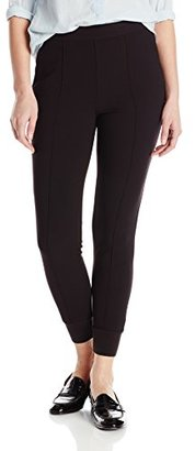 Kensie Women's Stretch Crepe Pant with Elastic Ankle $79 thestylecure.com