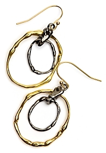 Alexis Bittar Double Hoop Earrings