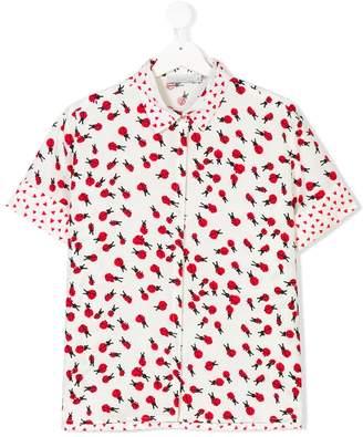 Stella McCartney TEEN ladybird print shirt