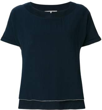 La Fileria For D'aniello notched neck T-shirt