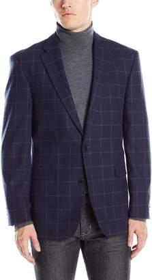 Tommy Hilfiger Men's Ethantwo Button Windowpane Sport Coat