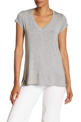 H By Bordeaux V-Neck Tunic Tee