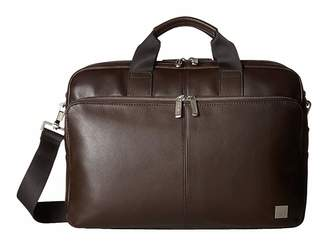Brompton KNOMO London Classic Amesbury Double Zip Briefcase