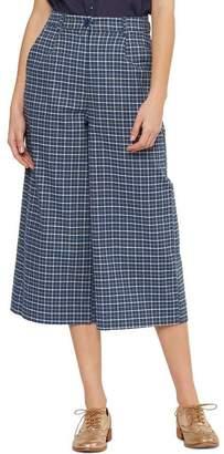 Miss Shop Millicent Check Culottes