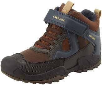 Geox Kids' New Savage Boy ABX 6 Waterproof and Insulated Rugged Boot Ankle
