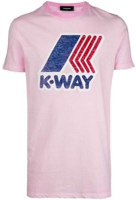 DSQUARED2 K-WAY print T-shirt