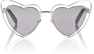 Saint Laurent Women's SL 197 Loulou Sunglasses - Silver