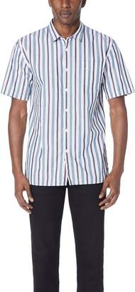 Zanerobe Striped Button Down Shirt