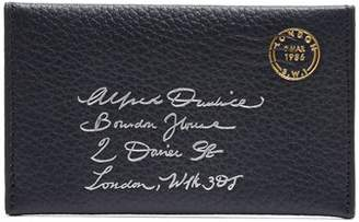 Dunhill Boston Leather Envelope Cardholder - Mens - Navy