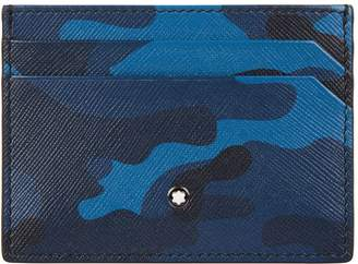 Montblanc Leather Camouflage Cardholder