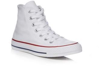 Converse White Canvas 'All Star' High Tops
