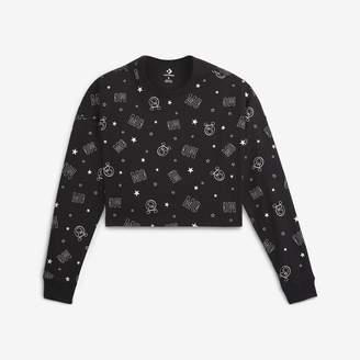 Converse x Miley Cyrus Monogram Women's Long-Sleeve Crop T-Shirt
