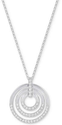 Swarovski Crystal Multi-Circle Pendant Necklace