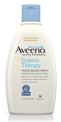 Aveeno Eczema Therapy Moisturizing Cream Relieves Irritated Skin