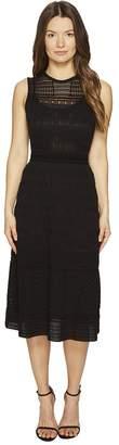 M Missoni Solid Rib Stitch Sleeveless Dress Women's Dress