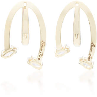 Bea Yuk Mui Bongiasca Honeysuckle Love Ties 9K Gold Earrings
