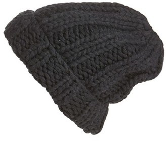 Women's Free People Back To Basics Beanie - Black $38 thestylecure.com