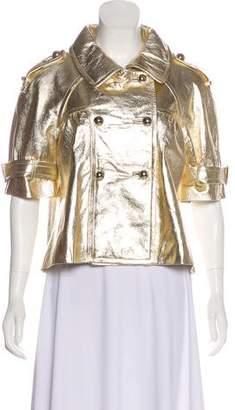 Jocelyn Accented Leather Jacket