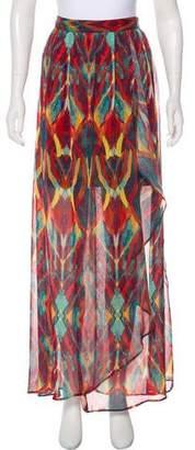 Alice + Olivia Printed Midi Skirt