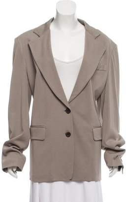 Ann Demeulemeester Casual Notch-Lapel Jacket w/ Tags