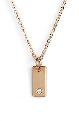 Women's Nashelle Diamond Bar Pendant Necklace $122 thestylecure.com