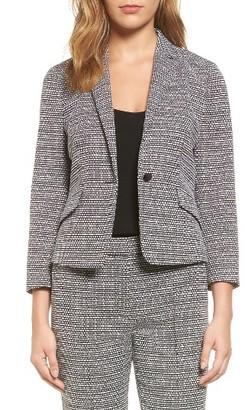 Women's Boss Katemika Jacquard Suit Jacket $495 thestylecure.com