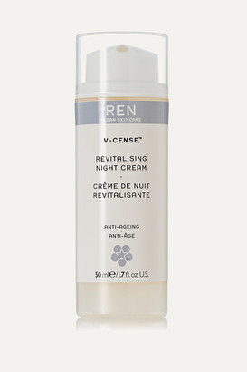 REN Clean Skincare - V-cense Revitalising Night Cream, 50ml - Colorless