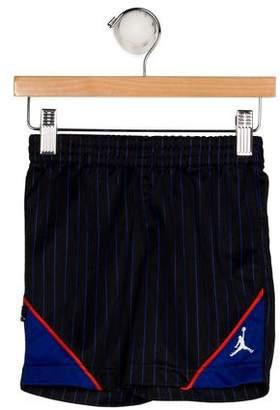 Nike Jordan Boys' Striped Athletic Shorts