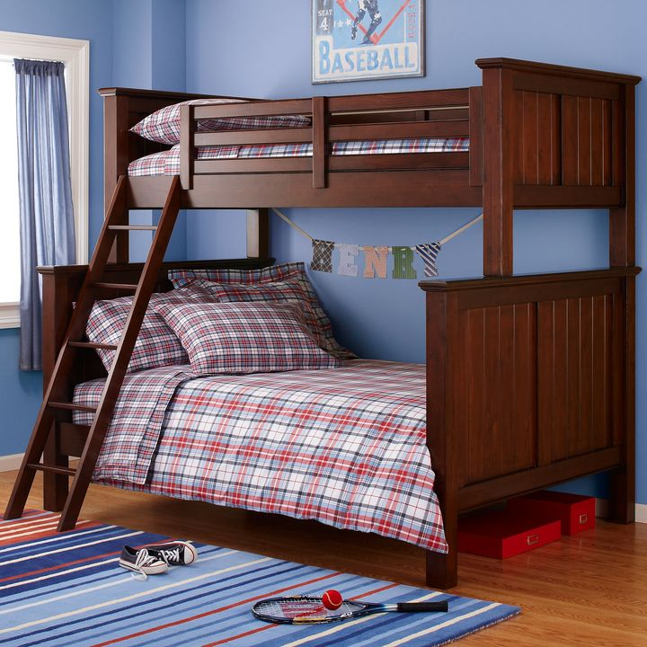 Chocolate Walden Twin-over-full Bunk
