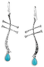 American West American West Wanesia Dragonfly Turquoise Earrings